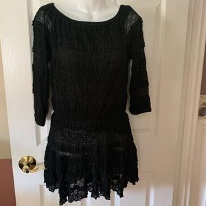 Candies Lace Gauze Dress-NWT